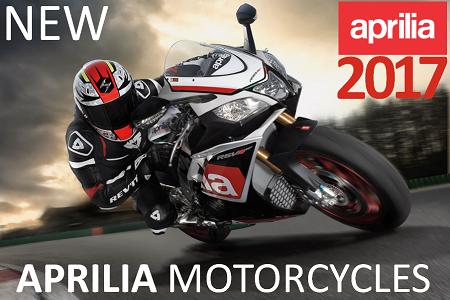 New Aprilia Motorcycles
