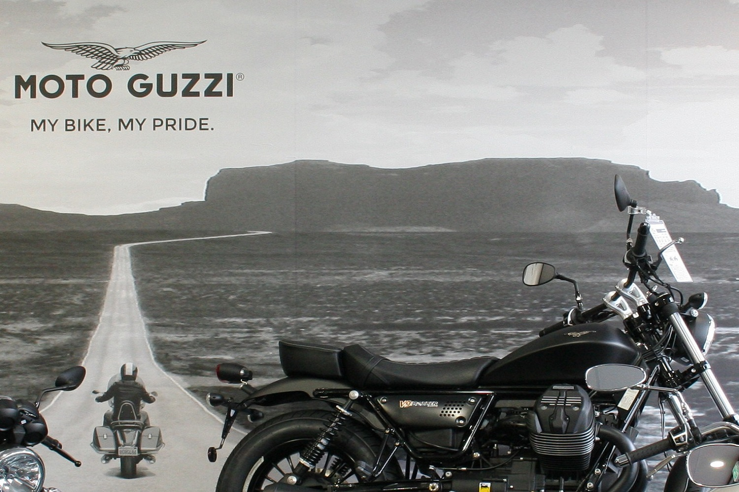 Moto Guzzi Motorcycle Store Picture