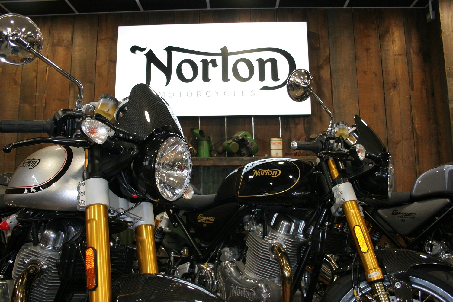 Norton Motorcycles in Teasdale Motorcycle's Store