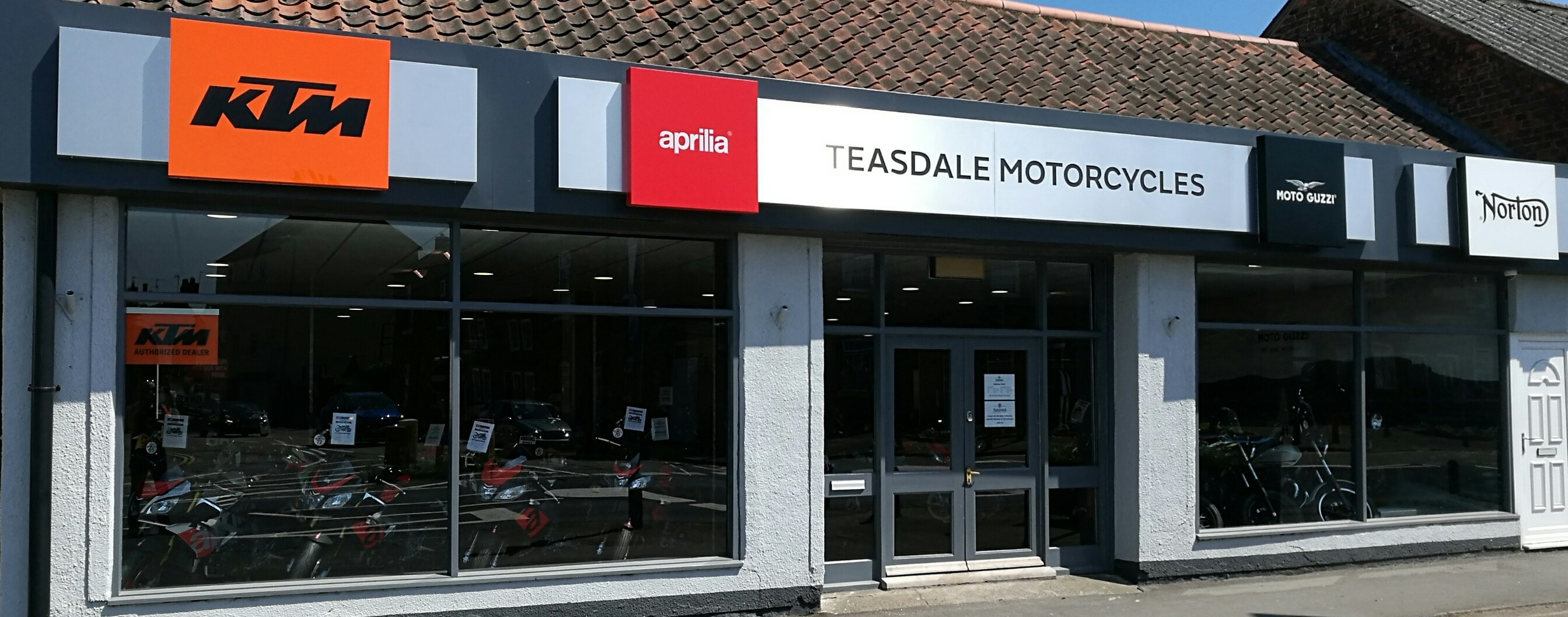 Teasdale Motorcycles Store Front