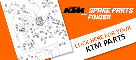 KTM Spare motorcycle parts