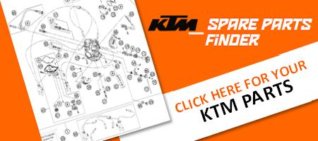 KTM Spare parts banner