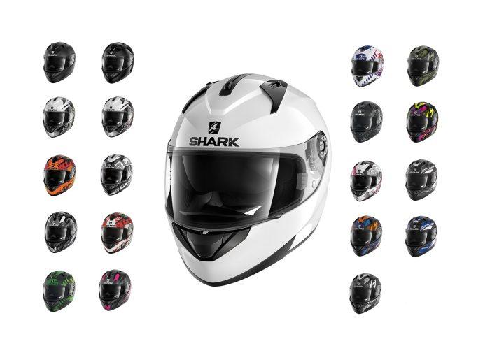 Shark Ridill helmets