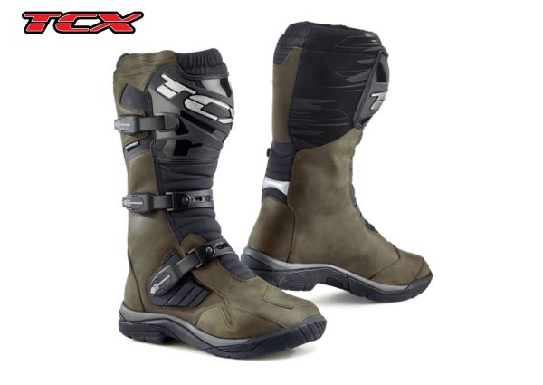 TCX BAJA WP: brown boots