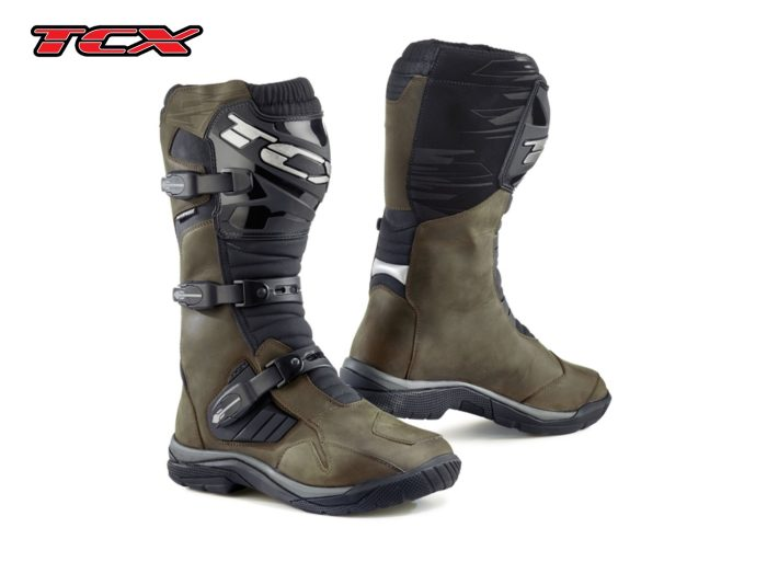 TCX BAJA WP: brown boots