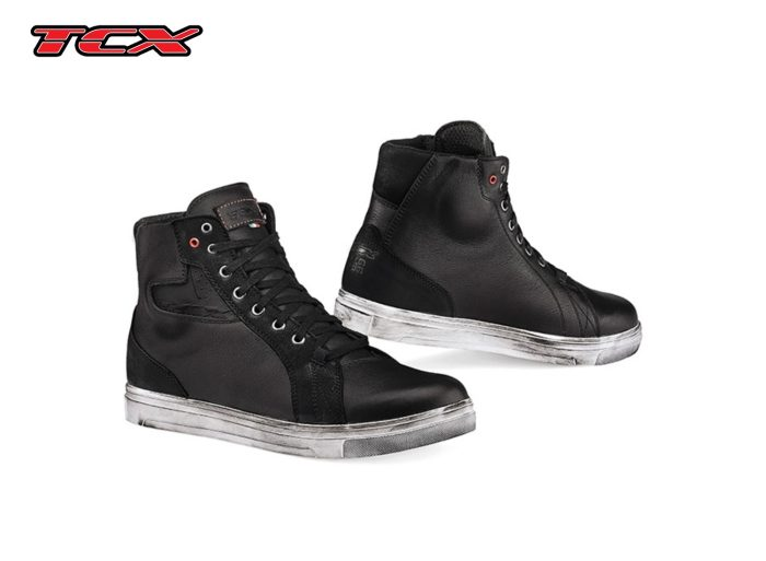 a black pair of TCX STREET ACE boots