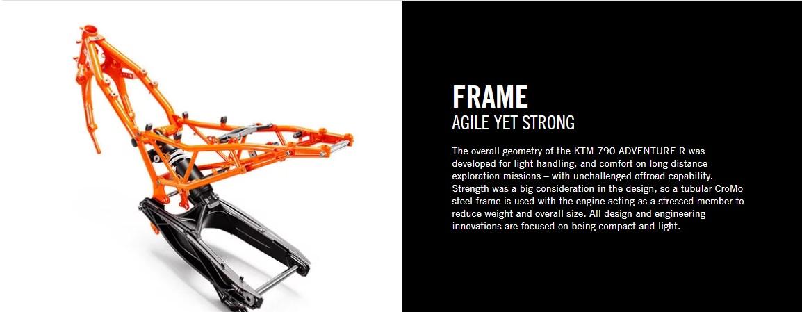 2020 KTM 790 Adventure R Frame