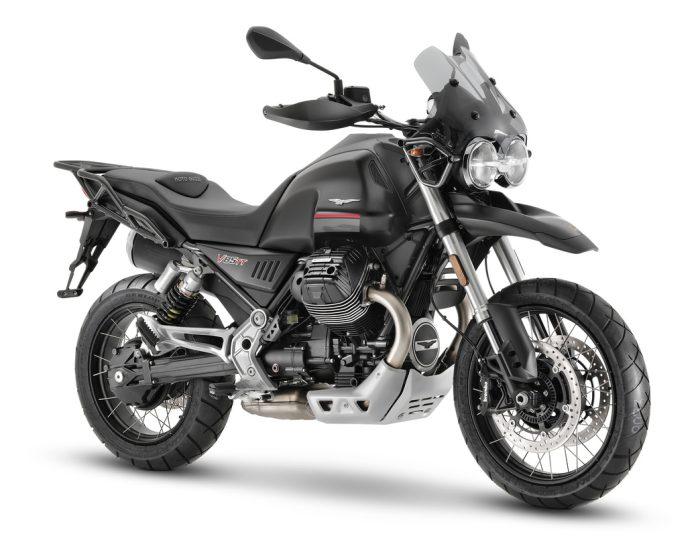 Moto Guzzi V85 TT Nero