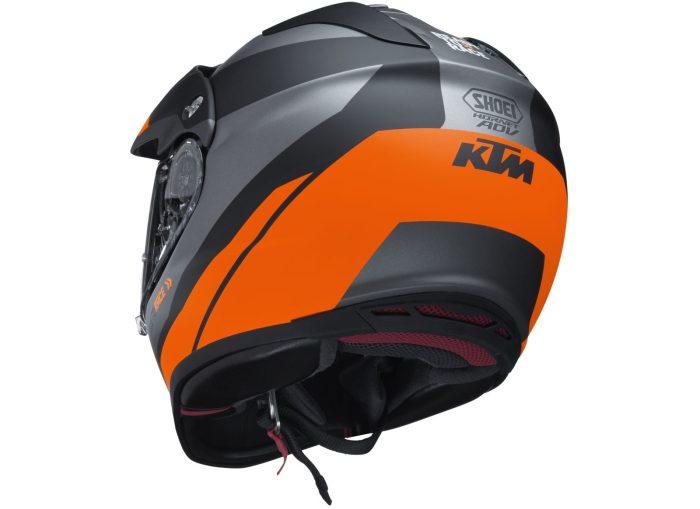 KTM Hornet Adventure Helmet Back