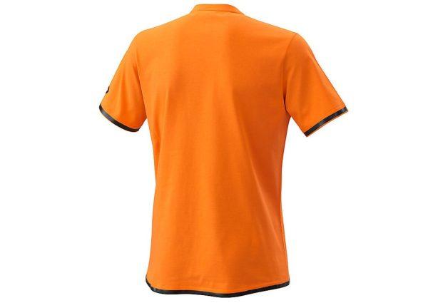 Pure T-Shirt Orange Back
