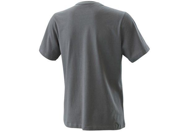 Radical Logo T-Shirt Grey Back