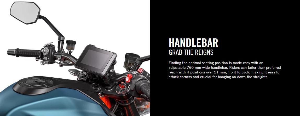 2020 KTM 1290 Duke R Handlebars
