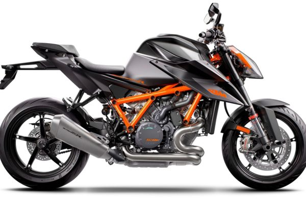Black 2020 KTM 1290 SUPER DUKE R