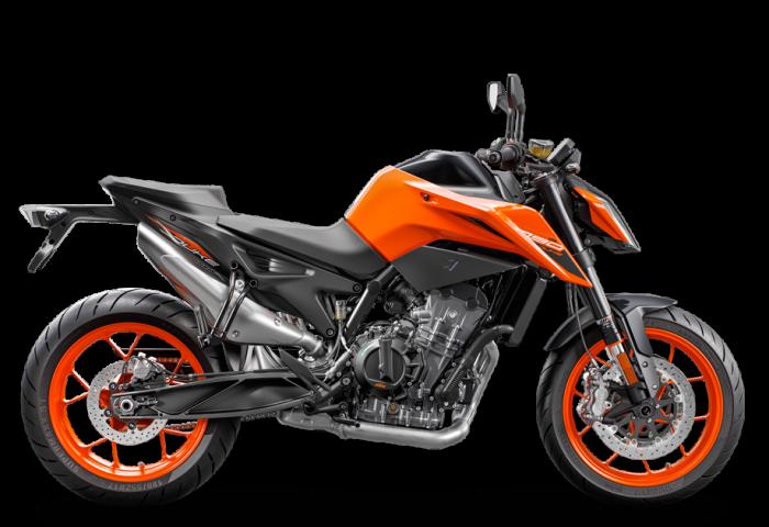 Orange KTM 790 Duke 2020