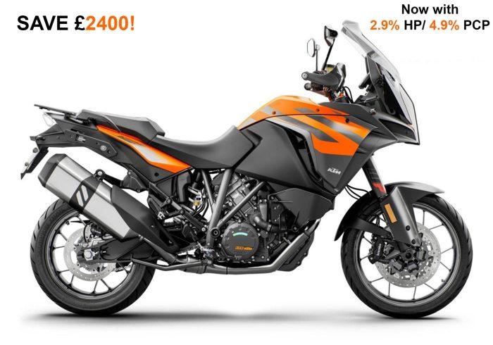 KTM 1290 Super Adventure S Orange