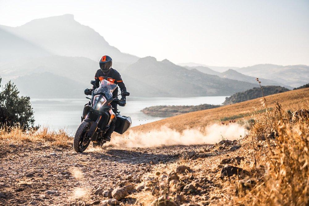 KTM 1290 Super Adventure S action shot