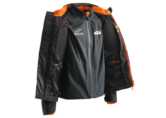 DURBAN GTX TECHAIR JACKET REVERSE