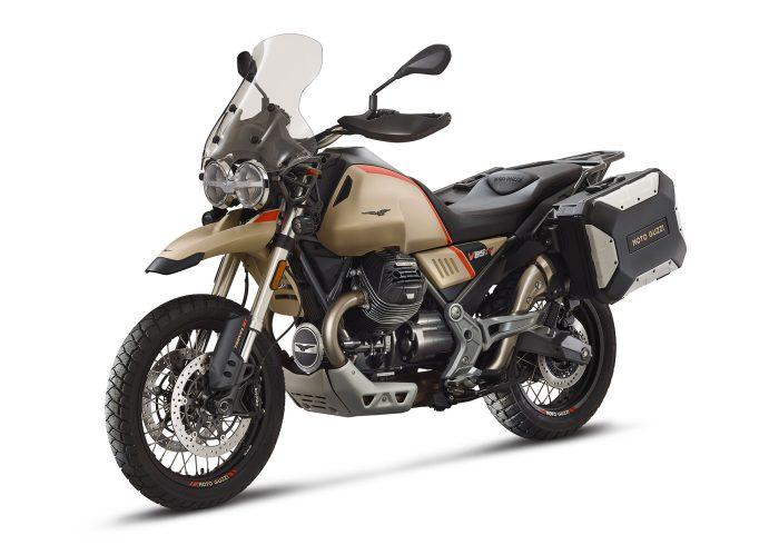 Moto Guzzi V85TT Travel angled