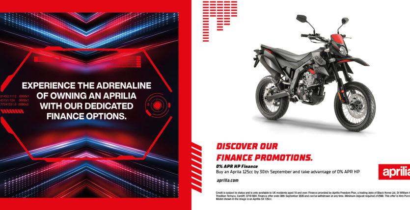 125 Aprilia finance