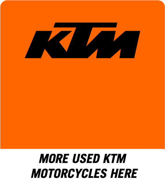 Used KTM motorcycles