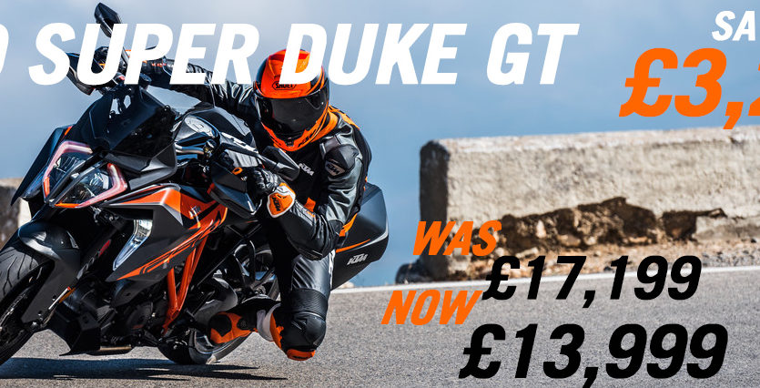 1290 Super Duke GT promotion