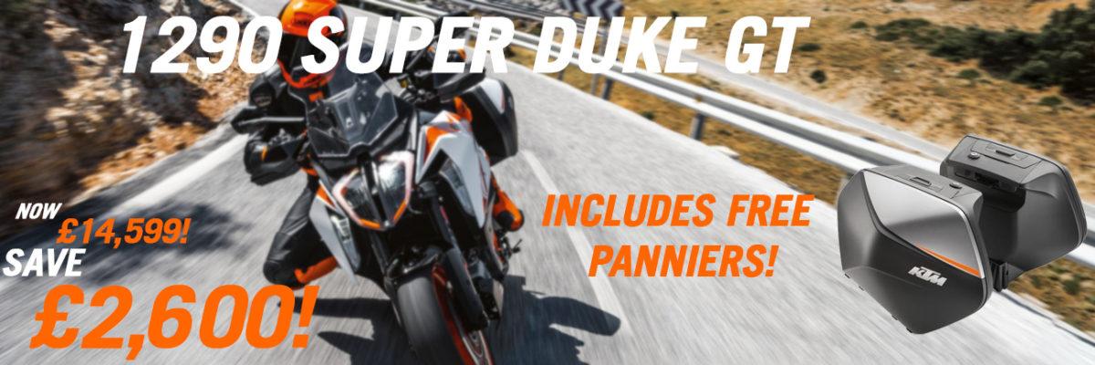 190 Super Duke GT panniers