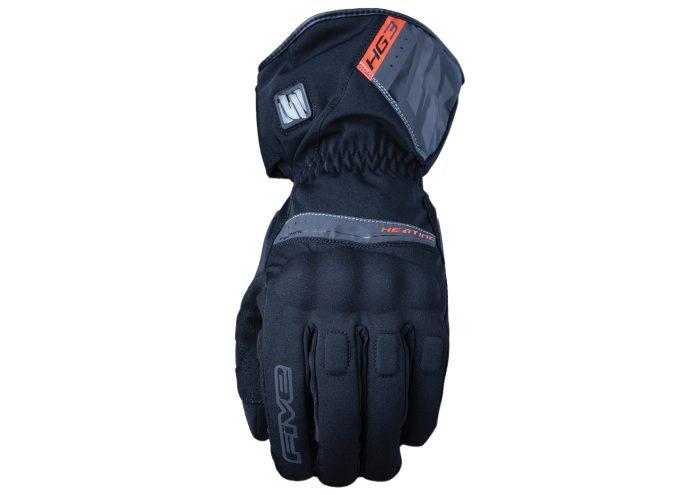 Five HG3 Waterproof Adult Gloves Black