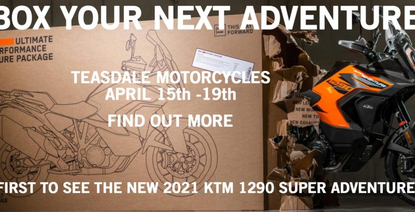 Unbox the new 1290 Super Adventure S